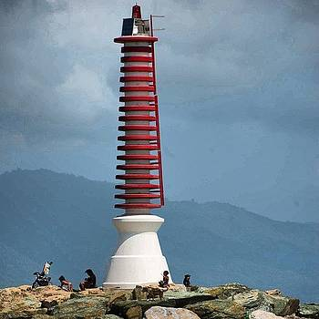 The Lighthouse At Guiria. #venezuela by Derek Kouyoumjian