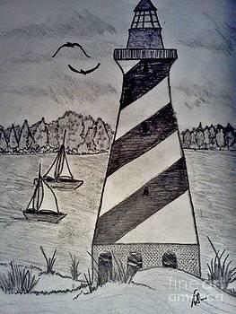 The Lighthouse by Neil Stuart Coffey