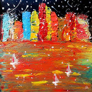 The Lights Of City  by Julia Apostolova