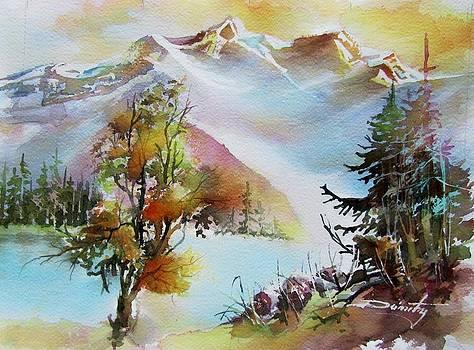 The Lions Peaks by Dumitru Barliga