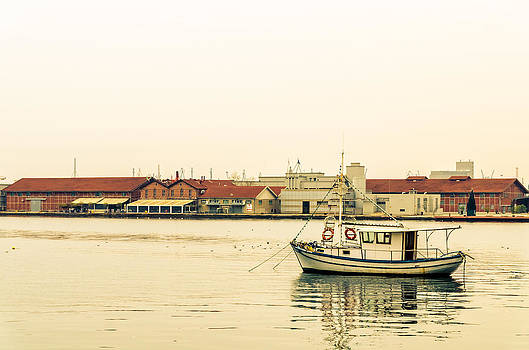 The little boat. by Slavica Koceva