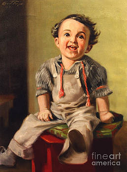 Art By Tolpo Collection - The Little Glee at Three