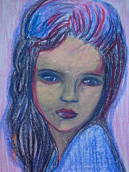 The Little Princess by Farfallina Art -Gabriela Dinca-