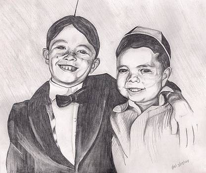 The Little Rascals by Beverly Marshall