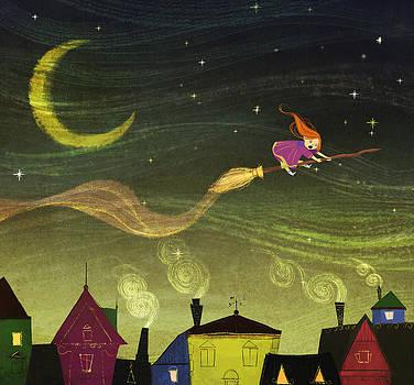 The Little Witch by Kristina Vardazaryan