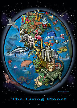 The Living Planet by Kevin Middleton