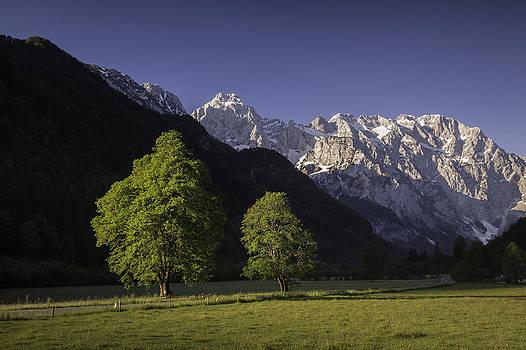 the Logar valley by Davorin Mance