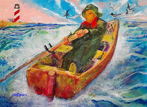 The Lone Boatman by Seth Weaver