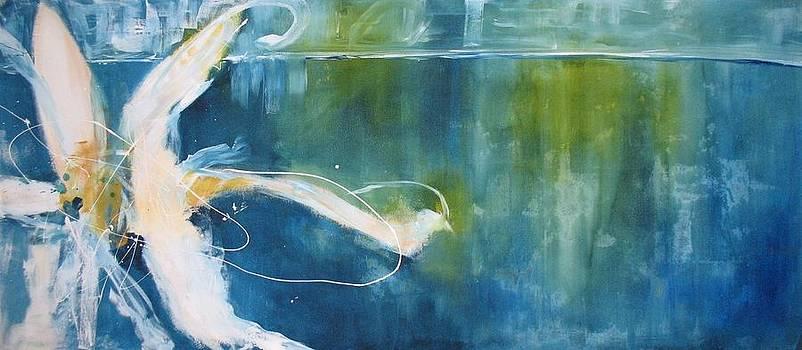 The Lone Flower by Gino Savarino