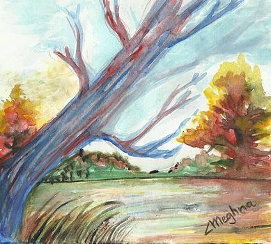 The lone tree by Meghna Suvarna