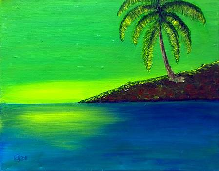 The Lonely Palm by Catherine Jeffrey