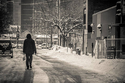 The Lonely Snowy Walk by Douglas Adams