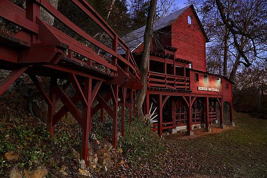 Jason Politte - The Long Bridge to Hodgson Water Mill - Missouri - Grist Mill