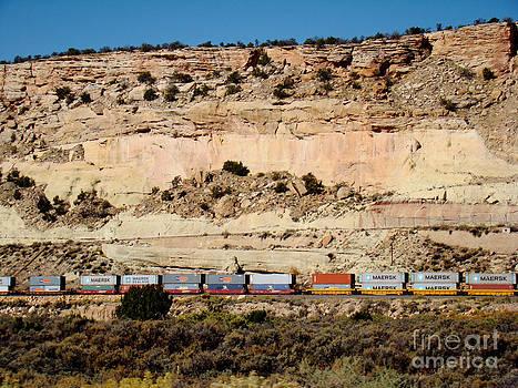 The Long Train by Eva Kato