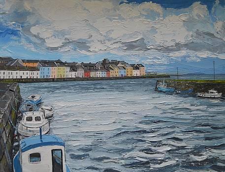 The Long Walk Galway by Diana Shephard