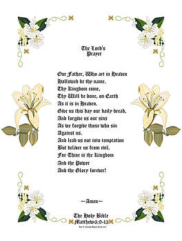The Lords Prayer by Anne Norskog