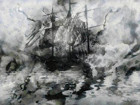 The Lost Ship VIII by Stefano Popovski