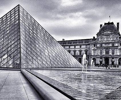The Louvre Pyramid by CD Kirven