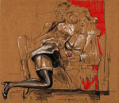 The Lovers by Ertan Aktas