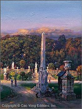 The Luxembourg Garden III Peaceful Moment by Cao Yong