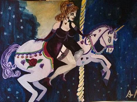 The magic carousel  by  Lady  Ann
