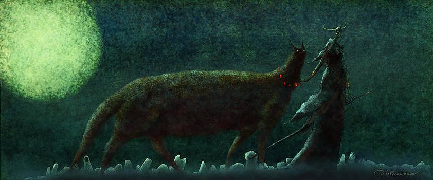 The Magic Moon by Dmitry Rezchikov