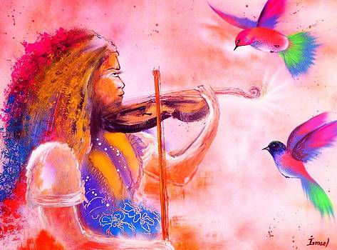 The magic of music by Ismael Paint