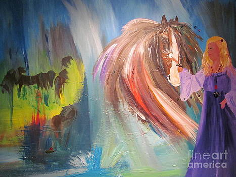 The Majik of Horses by Susan Voidets
