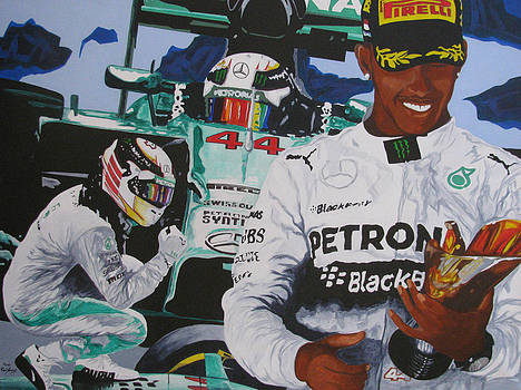 The Making of a Champion Lewis Hamilton by Ronald Young
