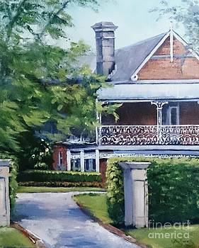 The Mansion by Kathy  Karas