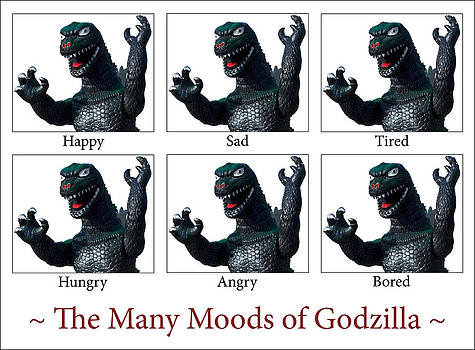 The Many Moods of Godzilla by William Patrick