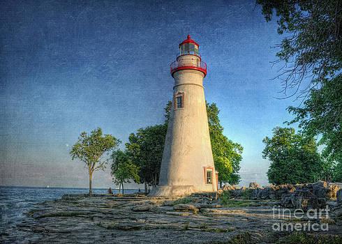 The Marblehead Lighthouse by Pamela Baker