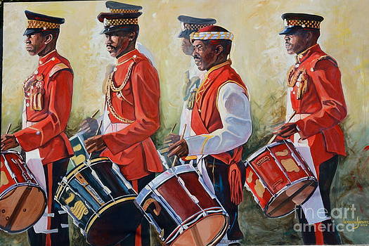 The Marching Men by Jeffrey Samuels