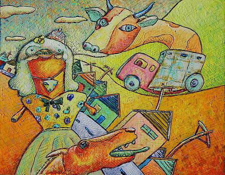 The Market by Ronald Walker