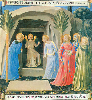 Fra Angelico - The Marys at the Tomb
