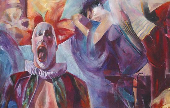 The mask of the subconscious by Otilia Gruneantu Scriuba