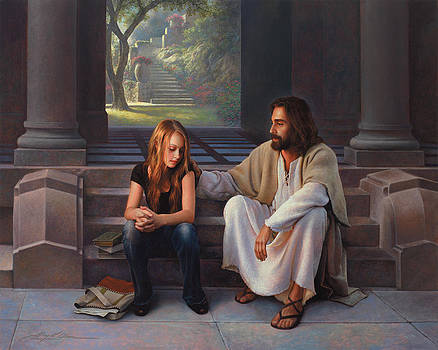 The Master's Touch by Greg Olsen