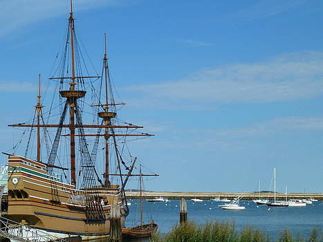 The Mayflower is a Tiny Ship by Merridy Jeffery