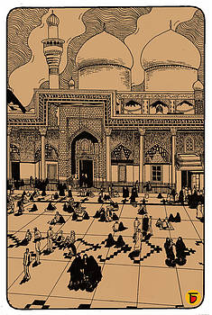 The Mecca Mosque by Charbak Dipta