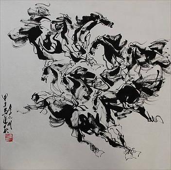 The melody of movement 2 by Richard Xiaochuan Li