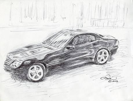 The Mercedes by Horacio Prada