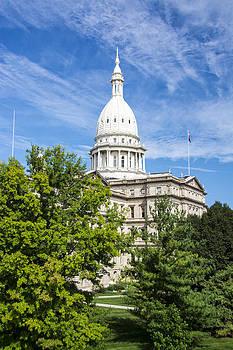 The Michigan Capitol Building by Gej Jones
