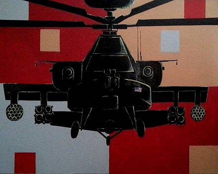 The Mighty Apache by Deborah  Heins