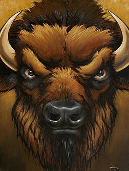 The Mighty Bison by Glenn Pollard