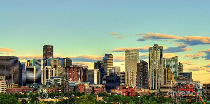 The Mile High City by Anthony Wilkening