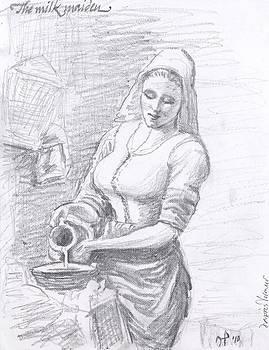 The milkmaid by Horacio Prada