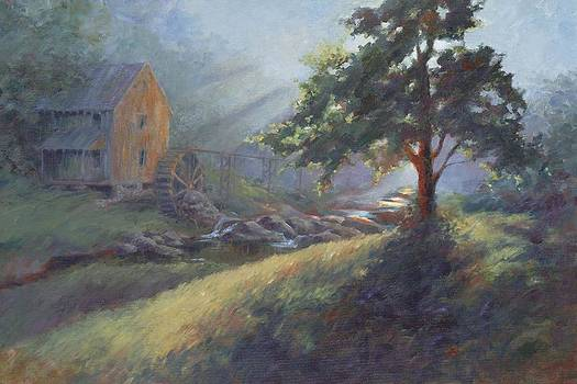 The Mill at Sixes Road by Ann Litrel