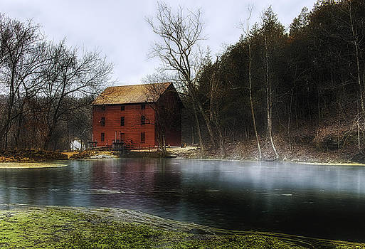 The Mill Pond by Ron  McGinnis