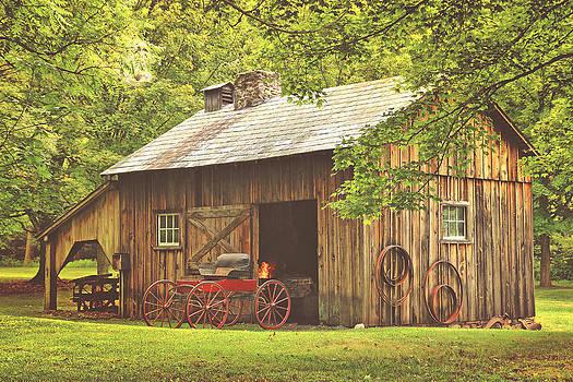 The Millbrook Blacksmith by Pat Abbott
