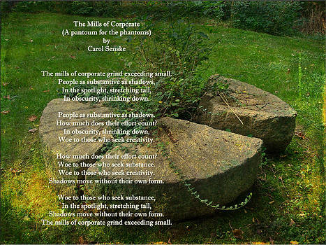 Mother Nature - The Mills Of Corporate - Poem and Image
